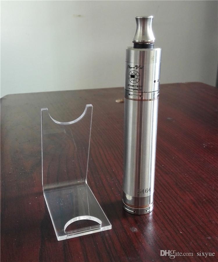 Acrylic e cig display stand clear shelf holder rack for ecig electronic cigarette mechanical mod mod battery vape pen cheapest price