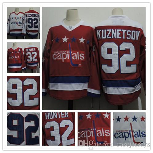 b25fd9332 ... Authentic Salute to Service Cheap Mens Washington Capitals 92 Evgeny  Kuznetsov White Ice Hockey 32 Dale Hunter Red Throwback CCM ...