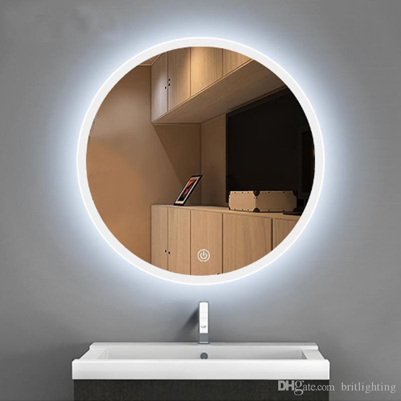 Hanging Light Up Mirror: 2019 Bathroom LED Mirror Lamp Hand Washing Tabletoilet