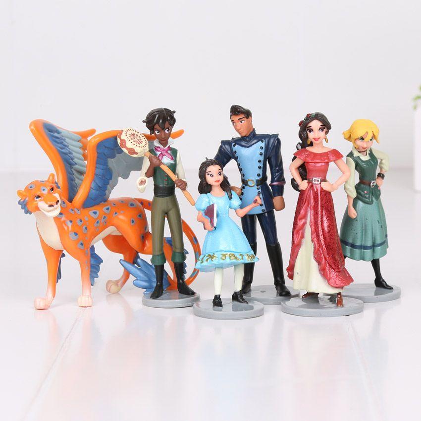 Großhandel 6 Stücke Neue Prinzessin Elena Von Avalor Anime Action ...