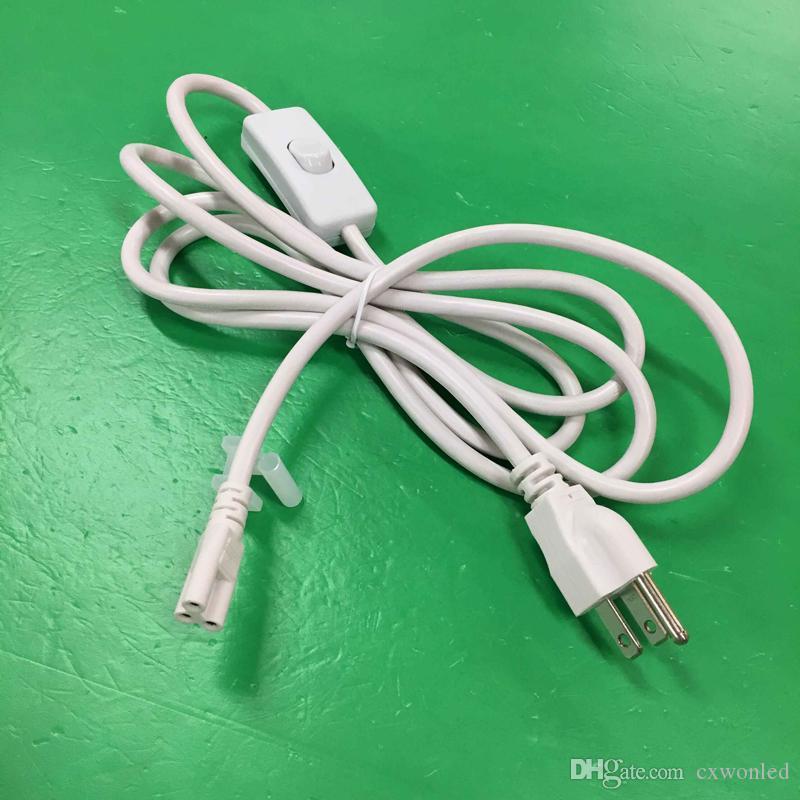 2ft 3ft 4ft 5ft 6ft Kablo Entegre T8 T5 için led tüp ışıkları Bağlayıcı led uzatma kablosu CE ROHS UL DLC