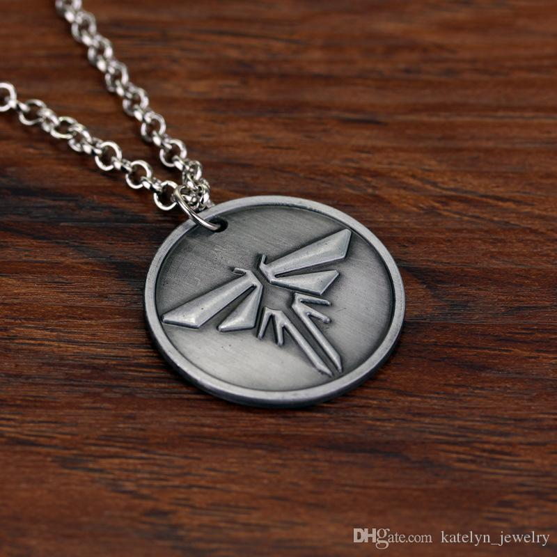 Wholesale the last of us necklace firefly logo letters dogtag joel wholesale the last of us necklace firefly logo letters dogtag joel ellie tess pendant mens pendants for necklaces silver jewellery online from mozeypictures Choice Image