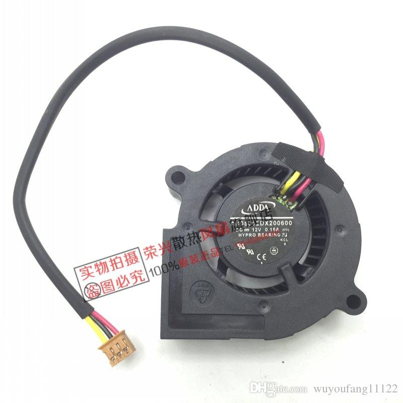 New original ADDA 5cm AB05012DX200600 5020 12v 0.15a Blower projector Cooling fan