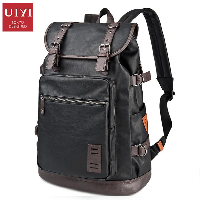 20cf78e07224 Wholesale- UIYI PU Men Travel Bag Casual Style Designer Backpacks ...