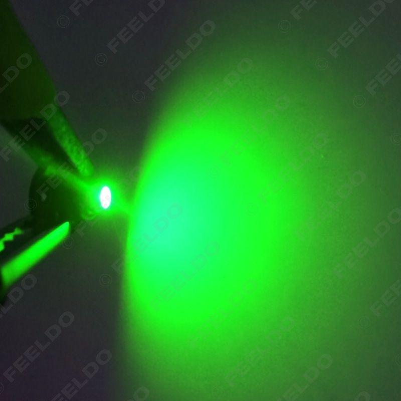 FEELDO DC12V T3 1210/3528 Chip 1LED Painel Do Carro Painel Medidor de Lâmpada de Luz Lâmpadas LED 7-Cor # 4448