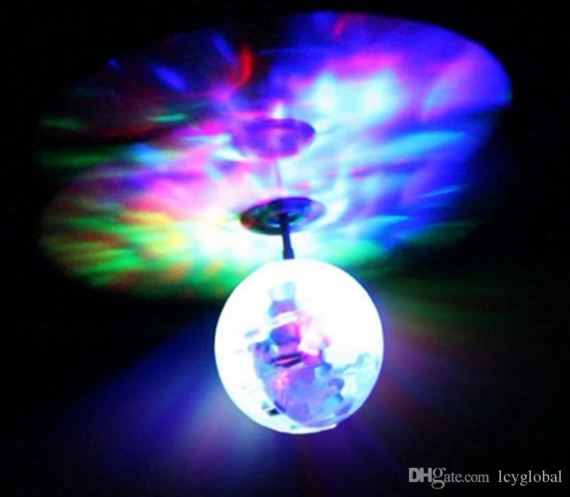2017 Easy Operation Flying RC Flying Ball Infrared Sense Induction Mini Aircraft Flashing Light Remote Control UFO Toys With Retail Package