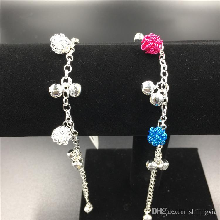2017new Fashion 925 Sterling Silver Daisies Murano Glass&Crystal European Charm Beads Fits Charm bracelets Style Bracelets