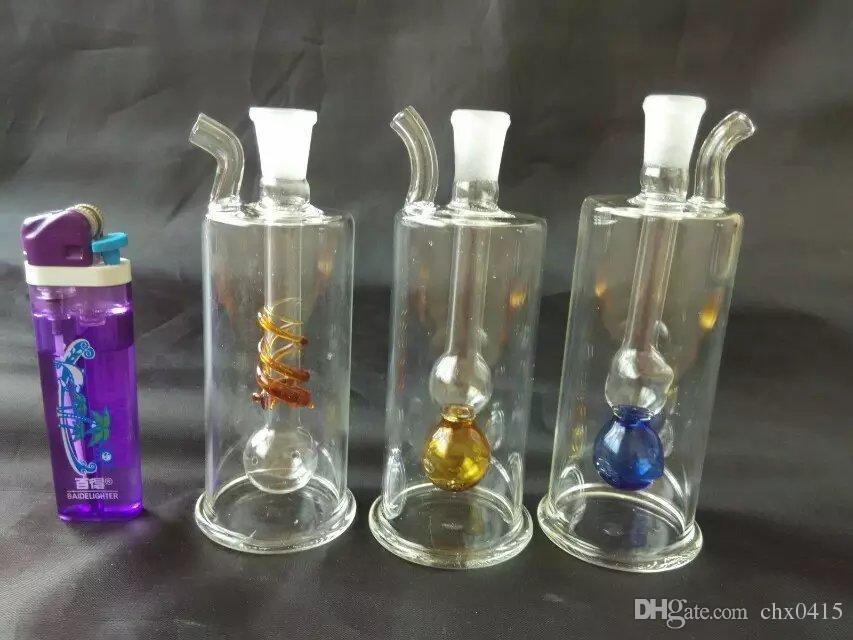 Mangueras de vidrio de color, único quemador de aceite Tubos de vidrio Tuberías de agua Tuberías de vidrio Plataformas petroleras Fumar con cuentagotas