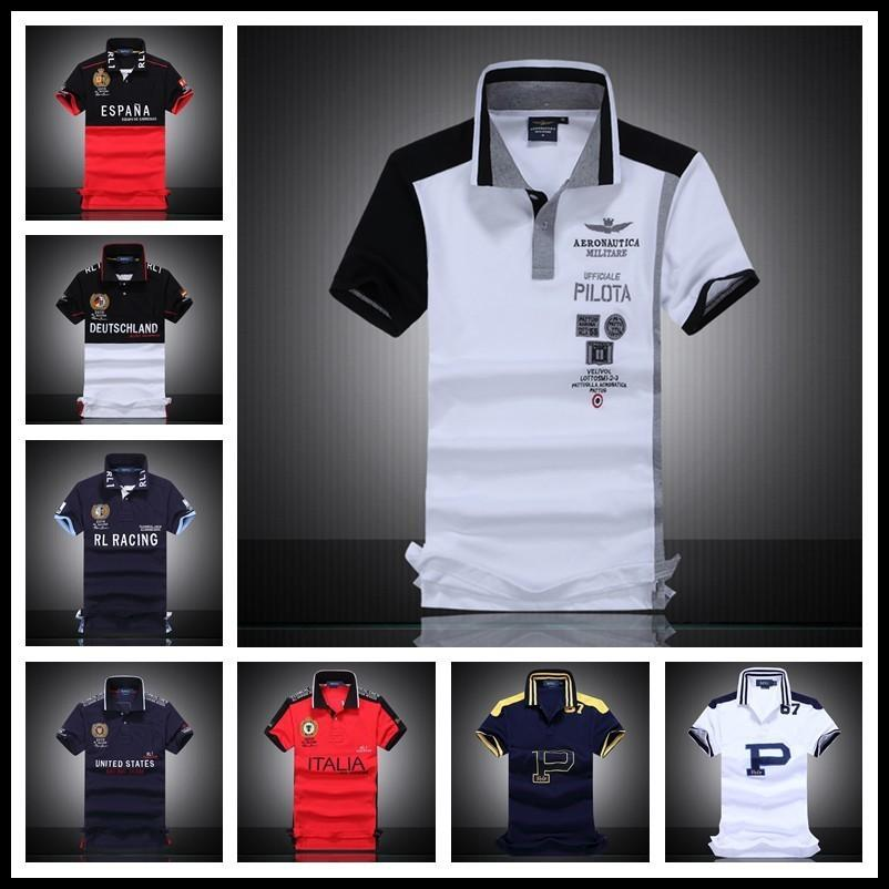 2019 2017 Men S Polo Shirt Embroidered Horse Logo Brand Militare Men