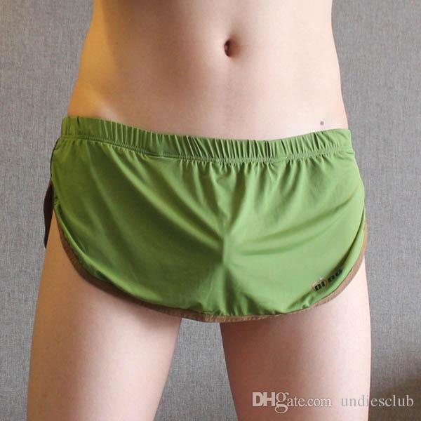 Men's Sleep & Lounge Underwear & Sleepwears Men Home Shorts Causal Beach Short Man Brand Boxer Shorts Sexy Man Panties Men Lounge Homewear