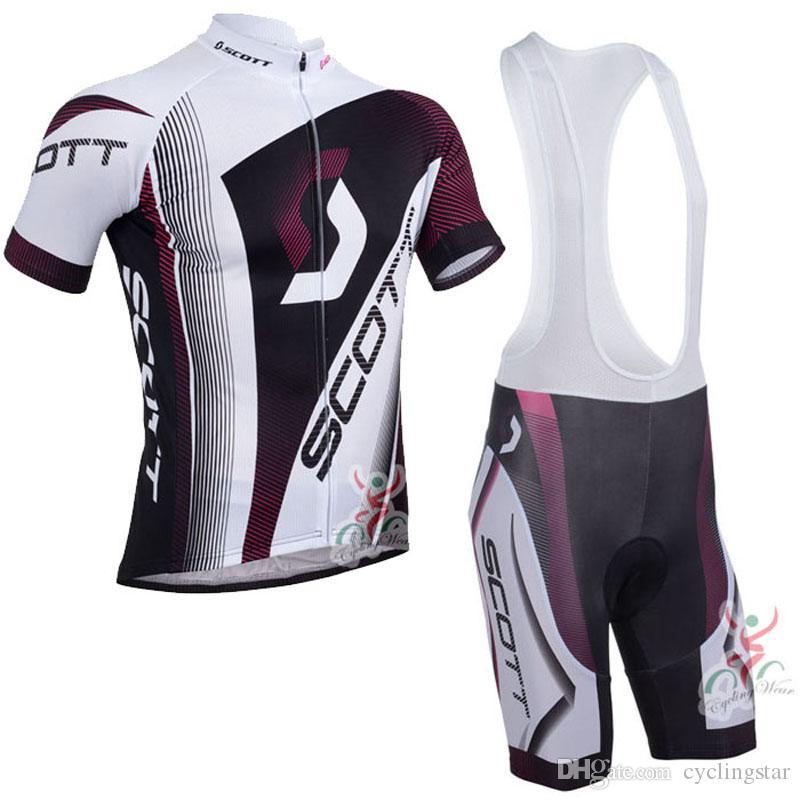 2017 Pro Scott Cycling Jerseys Bike Clothes Bicycle Clothing Mens Short  Sleeves Bib Shorts Set Mtb Maillot Ropa Ciclismo C0226 Cycling Clothing  Sale Cycle ... f34140fbe