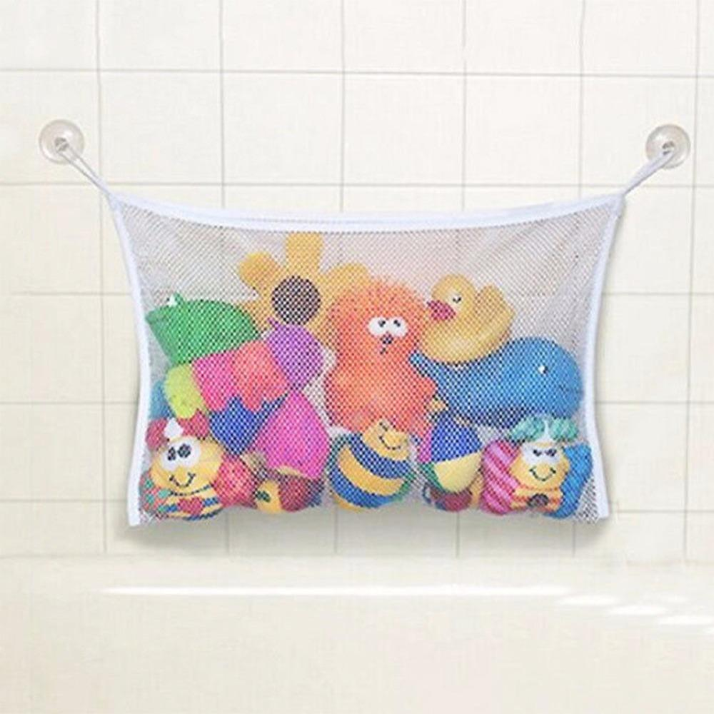 Wholesale- On Sale Bath Time Toy Hammock Baby Toddler Child Toys Stuff Tidy Storage Net Organiser