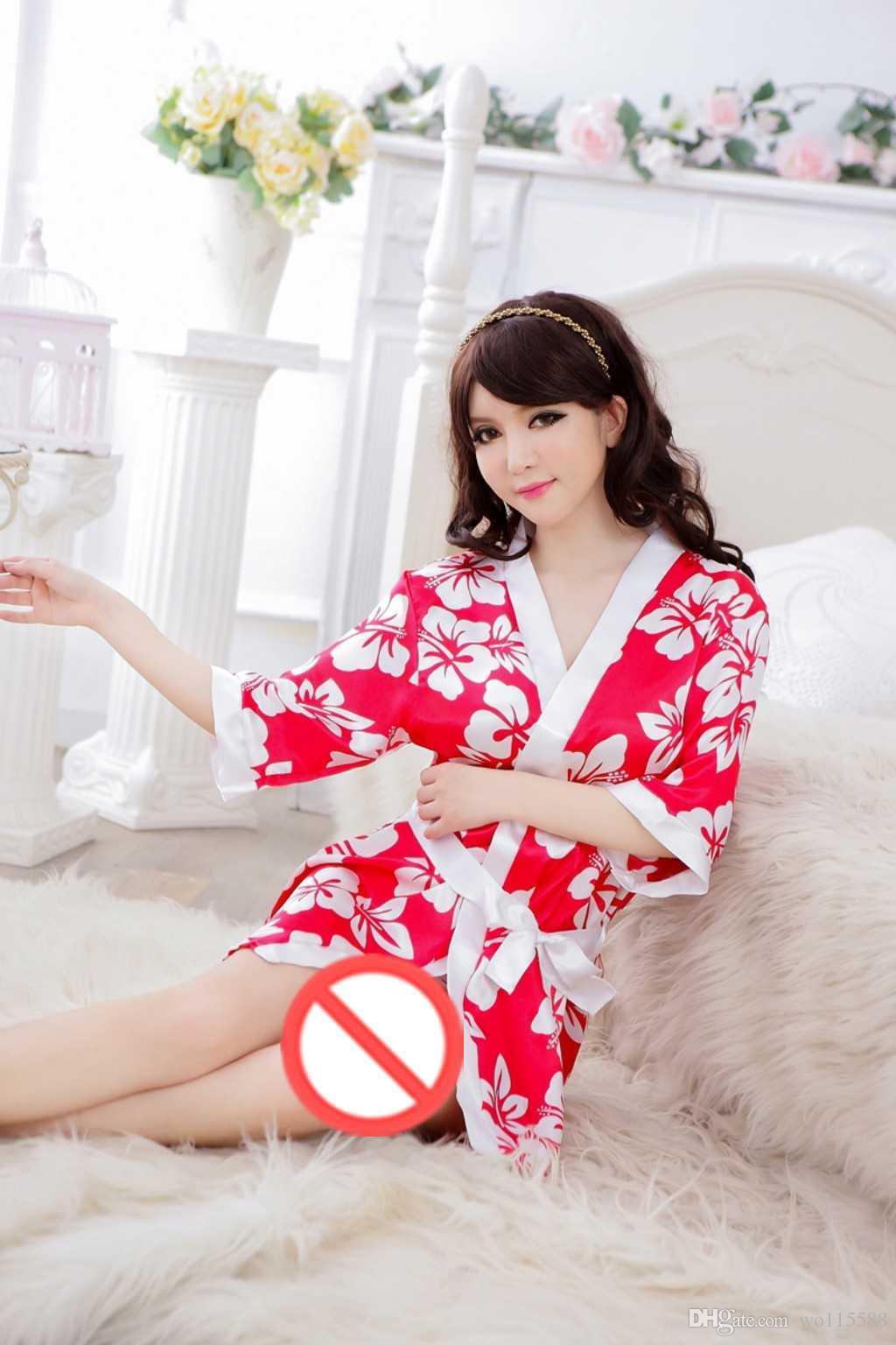 Бесплатная доставка новый горячий сексуальное женское белье кимоно реальный экстремальный искушение сексуальное тело прозрачный ультра-тонкий равномерное костюм пижамы большой размер sm
