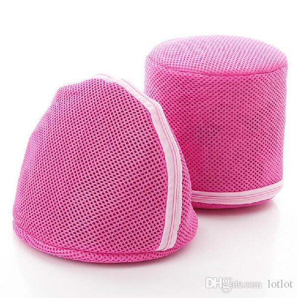 Dessous BH Unterwäsche Zarte Kleidung Waschen Wäsche Mesh Net Bag Mit Reißverschluss