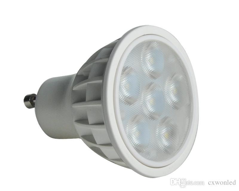SMD führte Glühlampen gu10 MR16 6W Dimmable geführte Scheinwerfer führte Downlightlampen CER UL DHL-Verschiffen