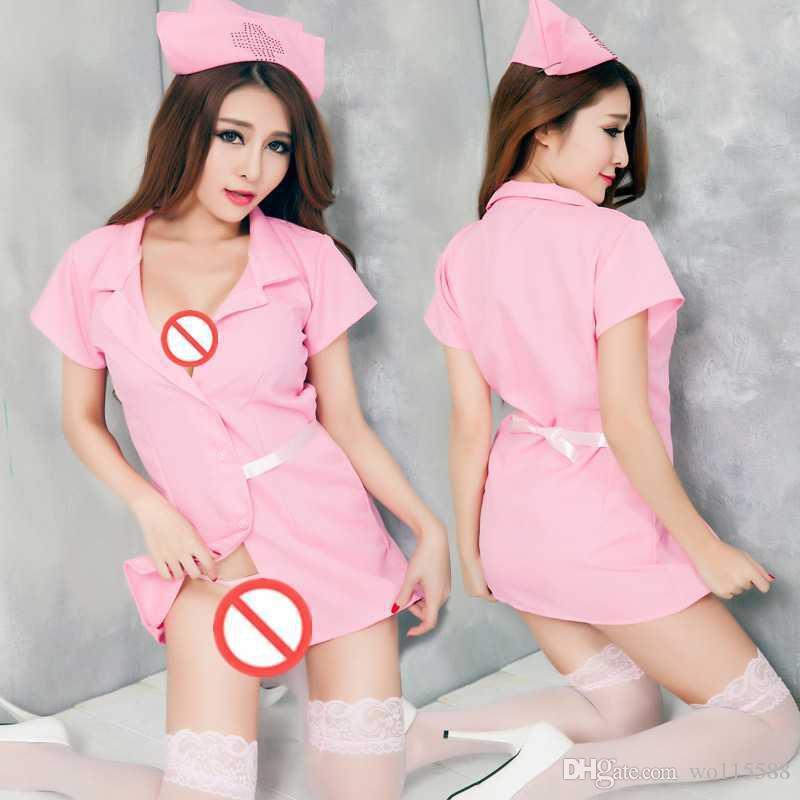 Ücretsiz kargo yeni sexy lingerie okul üniformaları hemşire hizmetçi hostes üniformaları günaha küçük göğüs MM iç tutku seksi eğlenceli uyacak
