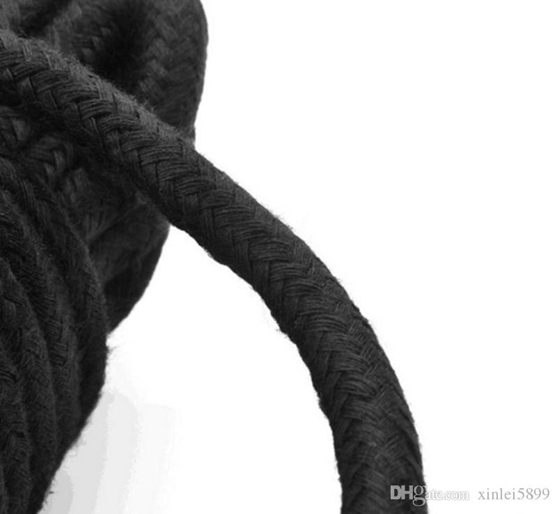 5m 10m Long Thick Strong Cotton Rope Fetish Sex Restraint Bondage Harness Ropes Adult Game Flirting Toys for Women Men