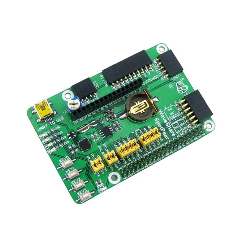 Freeshipping GPIO Expansion Board for Raspberry Pi 3 Model B Raspberry Pi 2  Model B DVK512 GPIO Shield Board