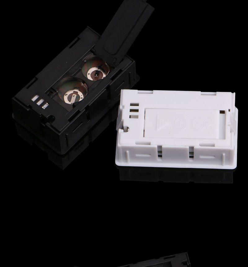 Novo preto / branco Mini Digital LCD Ambiente Termômetro Higrômetro Medidor de Temperatura Da Umidade Na sala geladeira icebox