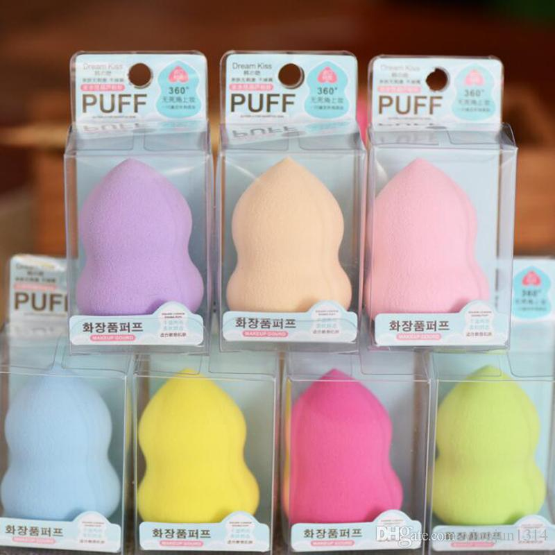 Hot Foundation Sponge Facial Makeup Sponge Cosmetic Puff Flawless Beauty Gourd Powder Puff Make Up Sponge for face