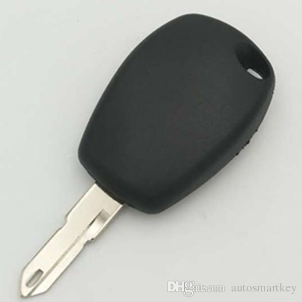 New car transponder chip key cover for renault transponder key blank shell FOB case with 206 blade
