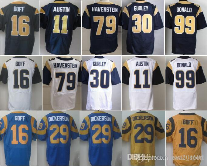 the best attitude eef91 fff2a best price aaron donald throwback jersey f688c 854e0