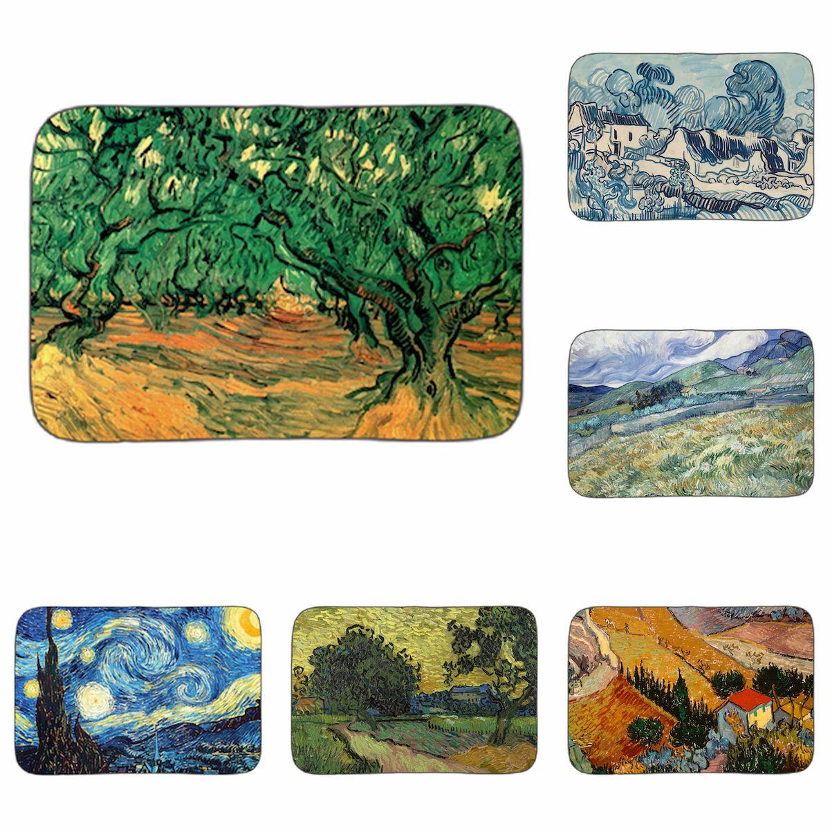 Compre Van Gogh Classic Paintings Nursery Farms Art Mat Cuarto De ...
