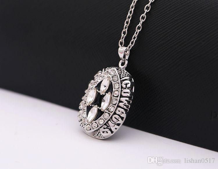 2017 New.N.F.L.League Super Bowl Necklace 1994 Dallas Cowboys Champion Necklace Fans Collection Collar