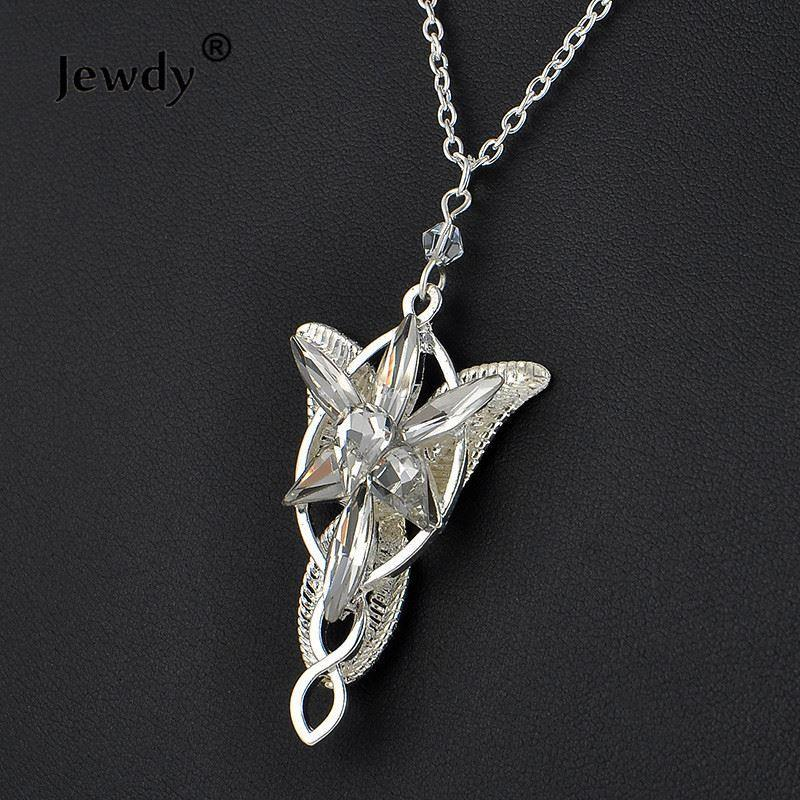 The lord of silver plated arwen evenstar pendant necklace crystal arwen necklace hobbit aragorn movies women fashion jewelry wholesale the lord of silver plated arwen evenstar pendant necklace crystal arwen necklace hobbit aragorn movies women fashion jew Image collections
