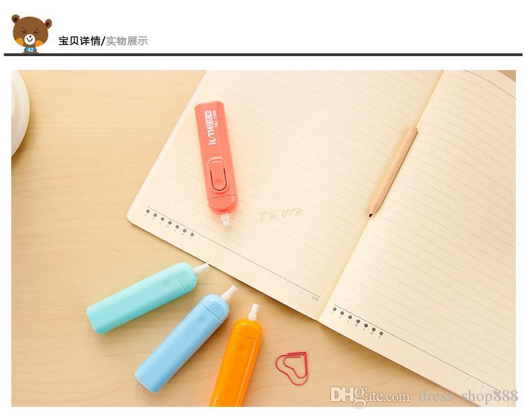 Japanese electric eraser Korea creative children automatically like skin Pupils sketch school supplies stationery gift