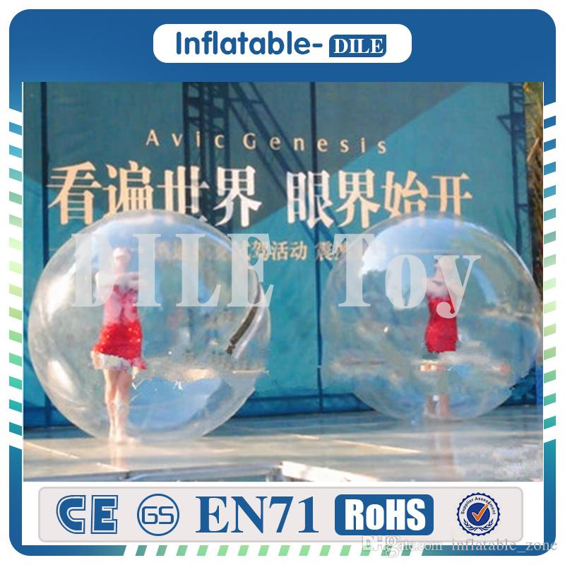 DHL for transparent walk on water ball ,inflatable water walking ball,Zorb ball for water pool