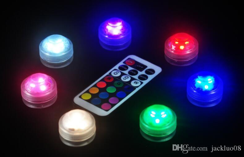 Grosshandel Wasserdicht Leuchtende Runde Kerze Lampe Led Kleine