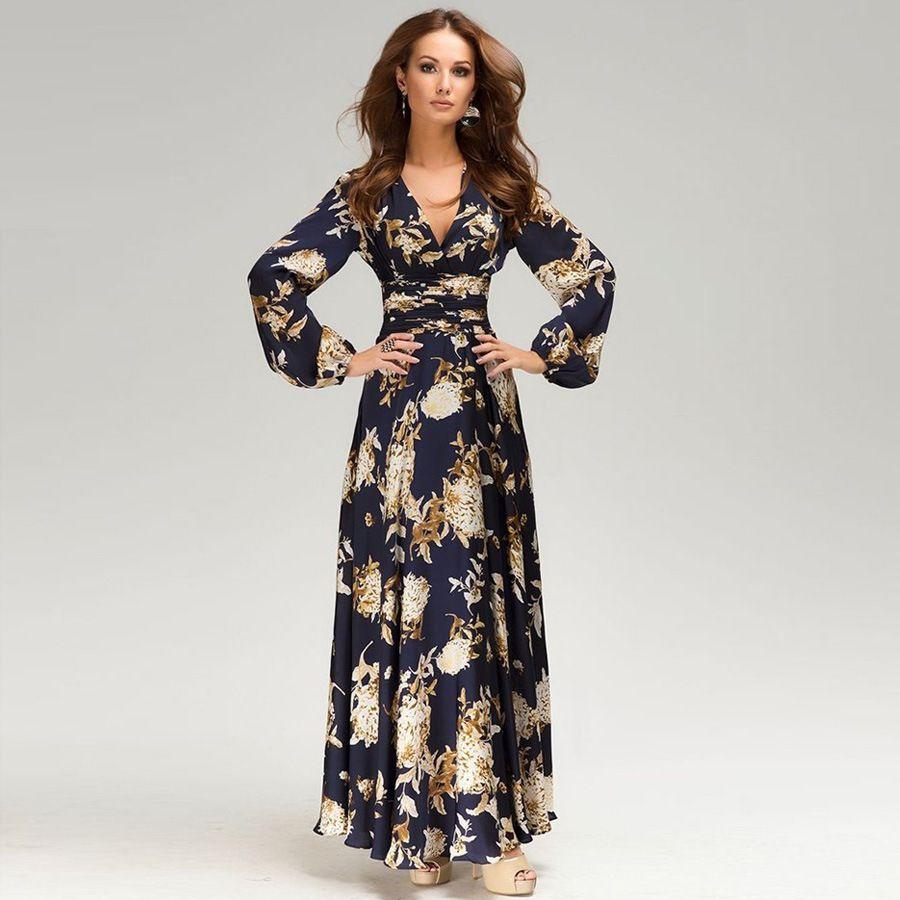 Long dress fashions