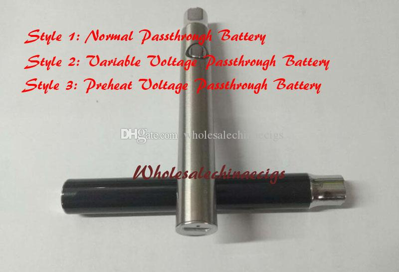 DHL 510 Bud Preheat usb passthrough Pre heat battery variable voltage for G3 o pen vape bud touch CE3 cartridges atomizer