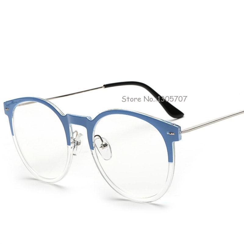 b929bbd6586 Wholesale- JIE.B Round Optical Glasses Vintage Myopia Design ...