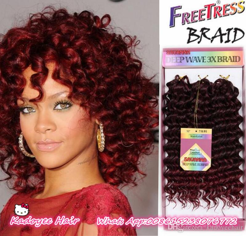 Online Cheap Synthetic Bounce Gogo Curl Kanekalon Hair Extension 3x