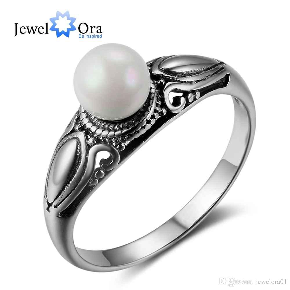 fashion women 925 sterling silver rings vintage pattern with