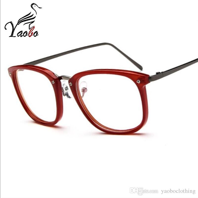 Compre Yaobo Mujeres Moda Lentes De Lectura Gafas Ópticas Marcos ...