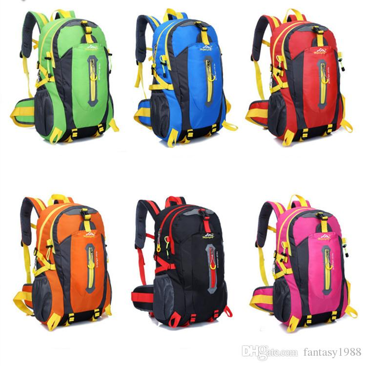 Outdoor Gear Hiking Camping Sport Cycling Bags Men Women's Backpack Trekking Mountaineer Casual Travel Packs Multifunction Fast Shipping