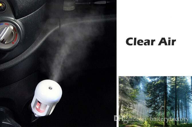 Os mais recentes Atualizado ajustável Aromaterapia Air Umidificador Aroma Difusor Umidificador Car fabricante Difusor névoa de óleo Difusor Fogger ANJIEMEI
