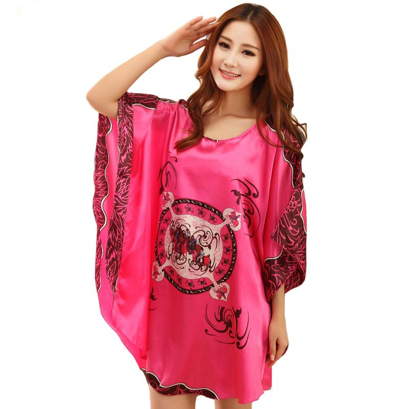 e5fd65bc382 Wholesale- Nightgowns Sleepshirts Women Night Dress Plus Size ...