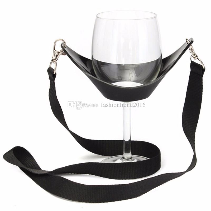 Tragbare Weinglas Lanyard Halter Straps Party Geburtstagsgeschenke Großhandel Bar Tools
