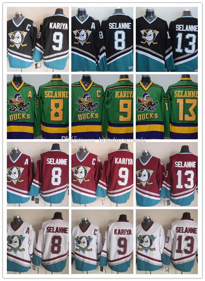 6b7f02e2 ... 2017 Throwback Nhl 1996 Anaheim Ducks 8 Teemu Selanne 9 Paul Kariya 13 Teemu  Selanne 35 . ...