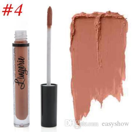 Vendita all'ingrosso-nuovo i NY Rossetto Lip Lingerie Matte Liquido Liquido Rossetto Impermeabile Lip Gloss Lunga durata Rossetto Trucco Maquillage GRATIS DHL