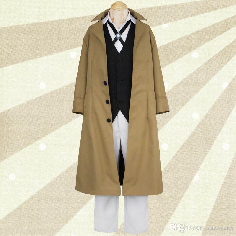 분고 길잃은 개 Anime Armed Detective Agency 회원 Cosplay Costume
