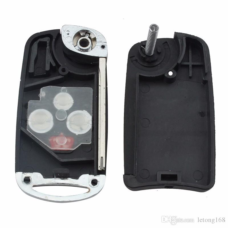 Guaranteed 100% 4 Buttons Flip Key Shell Refit for TOYOTA Camry Avalon Corolla Remote Key Case