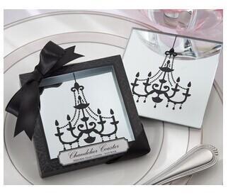 Souvenir all'ingrosso islamico bomboniera tazza di vetro sottobicchiere tovaglietta stuoia casamento bambini festa di compleanno 100 pz