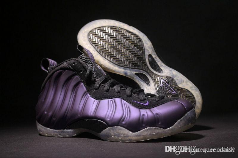 Best 2009 Air Foamposite One 1 Black Purple Hardaway Eggplant Varsity New  314996 051 Varsity Man Basketball Shoes Foamposites Hardaway Penny Snea  Under ...