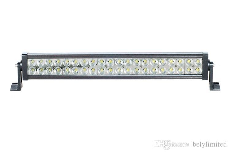 A barra clara conduzida brilhante super 120w conduziu a lâmpada de trabalho para o caminhão do jipe e fora da estrada 4wd