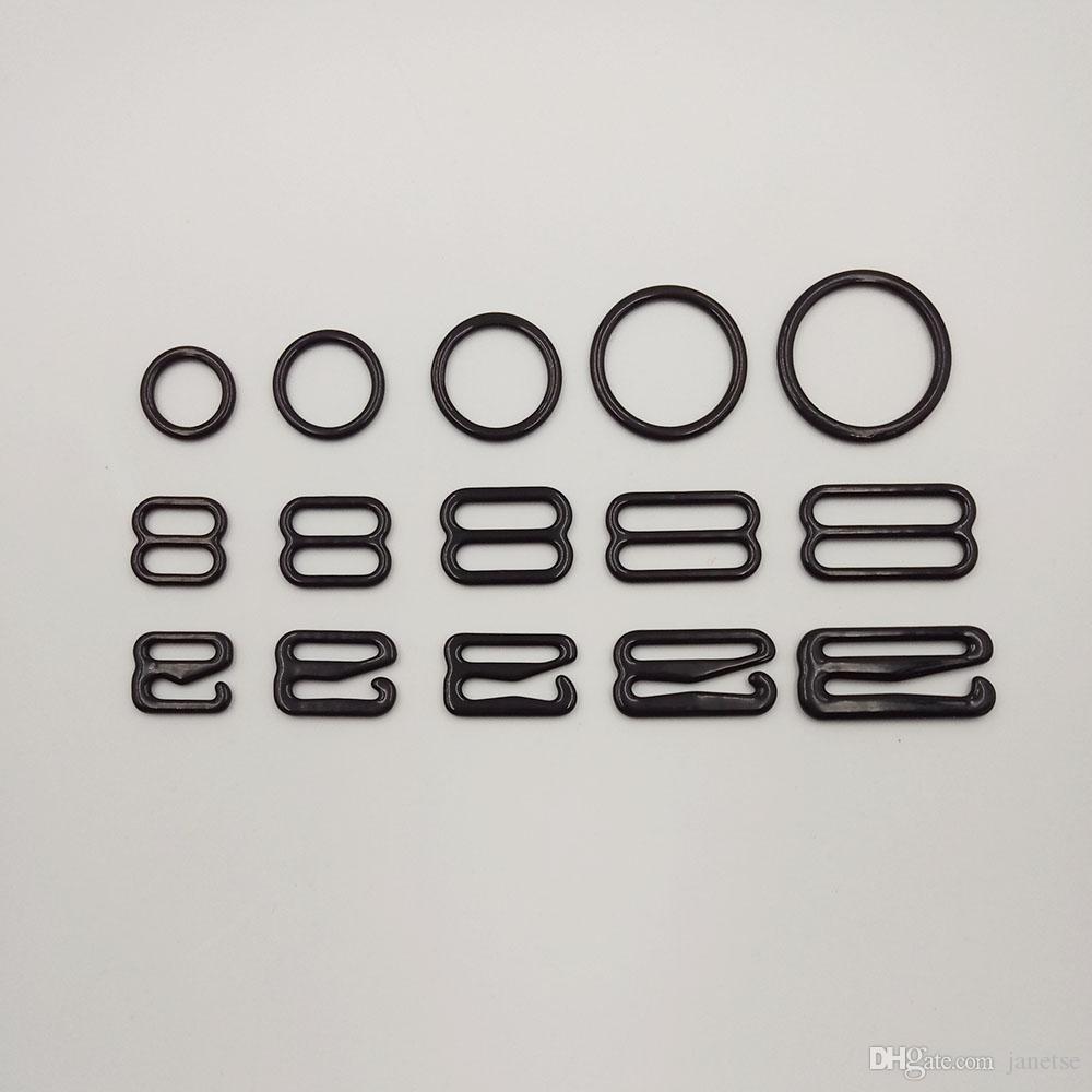 e5d9f8f29ec3d 2019 Nylon Coated Bra Metal Adjustive Ring